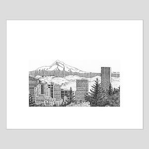 Portland/Mt. Hood Small Poster