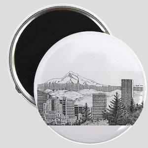 Portland/Mt. Hood Magnet