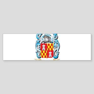Vigilante Coat of Arms - Family Cre Bumper Sticker
