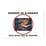 Banned in Alabama Postcards (Package of 8)