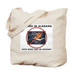 Banned in Alabama Tote Bag