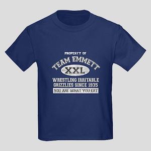 Property of Team Emmett Kids Dark T-Shirt