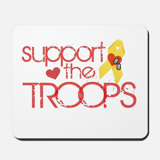 Support the TROOPS Mousepad