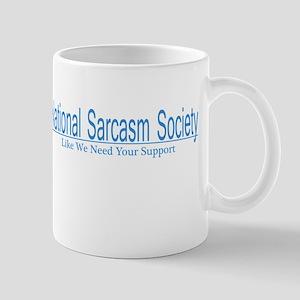 National Sarcasm Society Mug