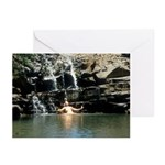 Amazon at Twin Falls Greeting Cards (Pk of 10)