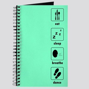Eat Sleep Breathe Dance Journal