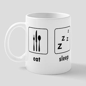 Eat Sleep Breathe Dance Mug
