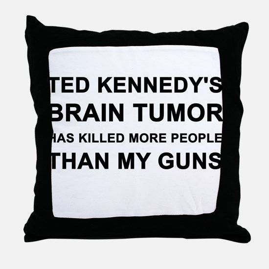 Cute Ted kennedy Throw Pillow