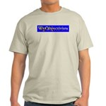 WyObjectivists Ash Grey T-Shirt