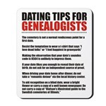 Dating Tips Mousepad