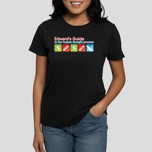 Money Sex Cat Women's Dark T-Shirt