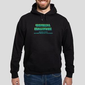 Universal HealthCare Hoodie (dark)