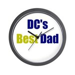 DC's Best Dad Wall Clock