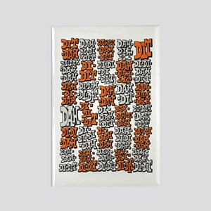 Morse Code A to Z Rectangle Magnet