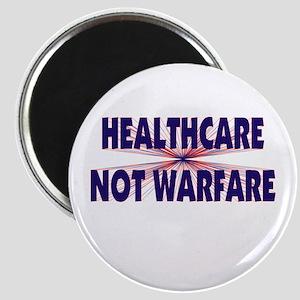 Healthcare Not Warfare Magnet