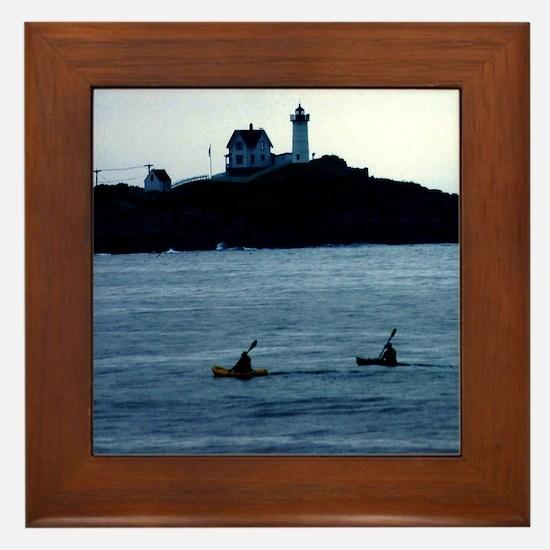Ocean Kayaking Framed Tile