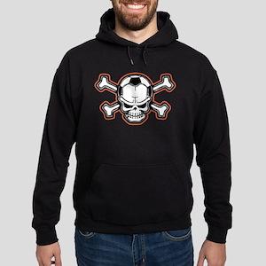 Soccer Skull III Hoodie (dark)