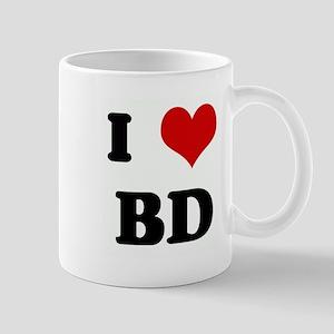 I Love BD Mug
