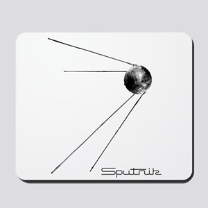 Sputnik Soviet Satellite Mousepad