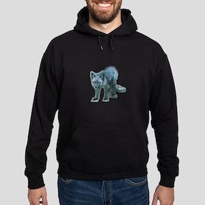 Pure Silver Fox Hoodie (dark)