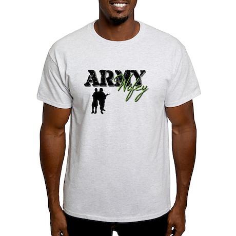Designs of an Army Wifey Light T-Shirt