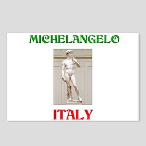 Michelangelo Postcards (Package of 8)