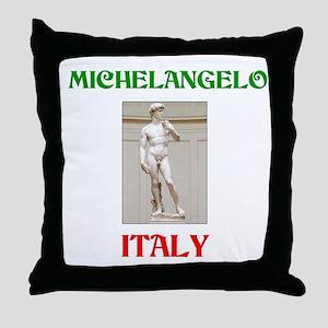 Michelangelo Throw Pillow