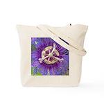 Purple Passion Flower -Tote Bag