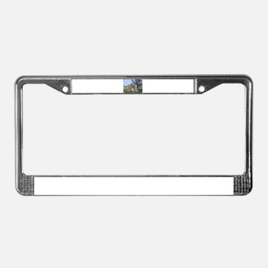 Camp Chase License Plate Frame