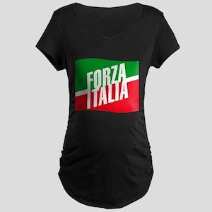Forza azzurri Maternity Dark T-Shirt
