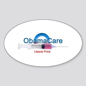 ObamaCare Oval Sticker