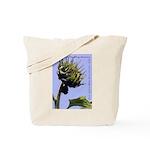 Tote Bag - Sunflower Bud & Open Fl.