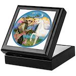 St Francis/Horse (Ar-W) Keepsake Box