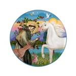 St Francis/Horse (Ar-W) 3.5
