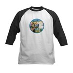 St Francis/Horse (Ar-W) Kids Baseball Jersey