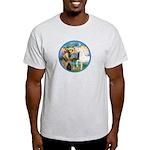 St Francis/Horse (Ar-W) Light T-Shirt