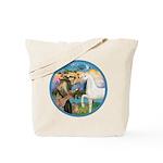 St Francis/Horse (Ar-W) Tote Bag