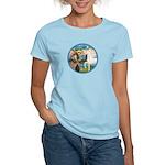 St Francis/Horse (Ar-W) Women's Light T-Shirt