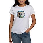 St Francis/Horse (Ar-W) Women's T-Shirt