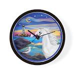The Wave/Horse (Ar-W) Wall Clock