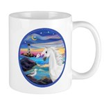 The Wave/Horse (Ar-W) Mug