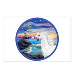 The Wave/Horse (Ar-W) Postcards (Package of 8)