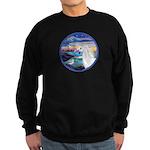 The Wave/Horse (Ar-W) Sweatshirt (dark)