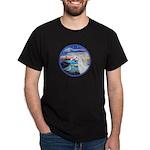 The Wave/Horse (Ar-W) Dark T-Shirt