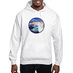 The Wave/Horse (Ar-W) Hooded Sweatshirt