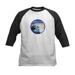 The Wave/Horse (Ar-W) Kids Baseball Jersey