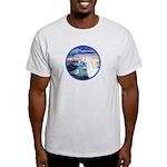 The Wave/Horse (Ar-W) Light T-Shirt