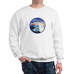 The Wave/Horse (Ar-W) Sweatshirt