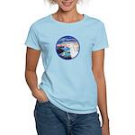 The Wave/Horse (Ar-W) Women's Light T-Shirt