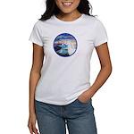 The Wave/Horse (Ar-W) Women's T-Shirt